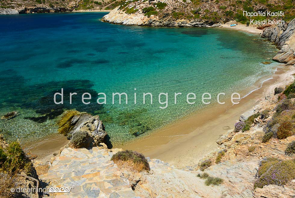 Kasidi beach Fournoi of Ikaria island greek islands