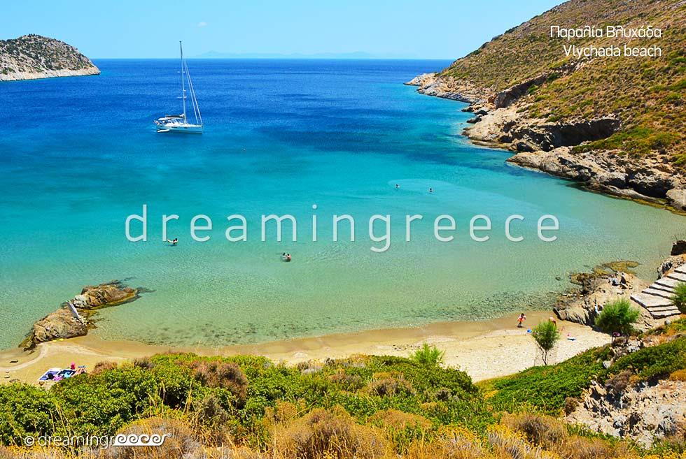 Vlychada beaches Fournoi of Ikaria island Beaches in Greece