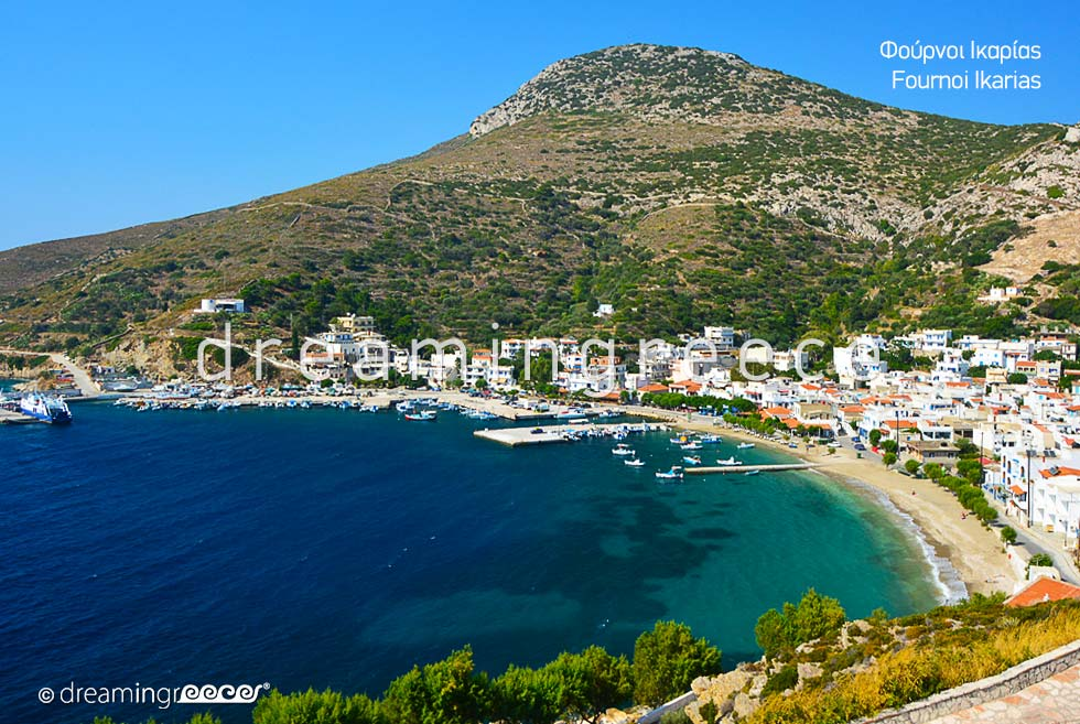 Fourni of Ikaria island Greek islands Vacations Greece.