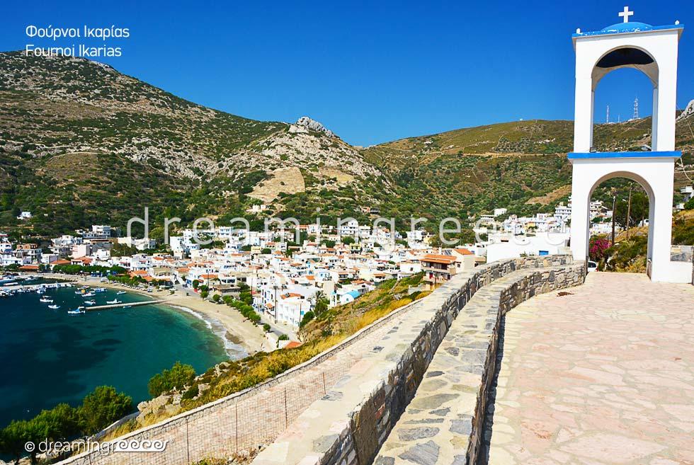 Explore Fournoi of Ikaria island Greek islands. Vacations Greece.