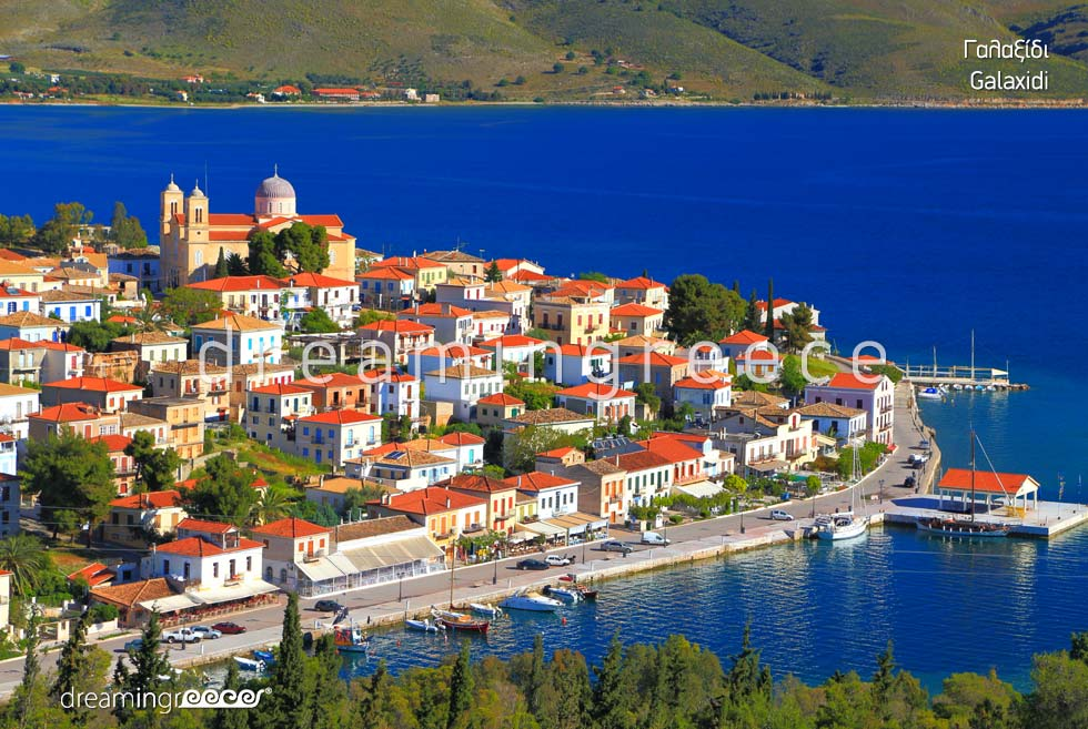 Vacations in Galaxidi Greece. Summer Holidays.
