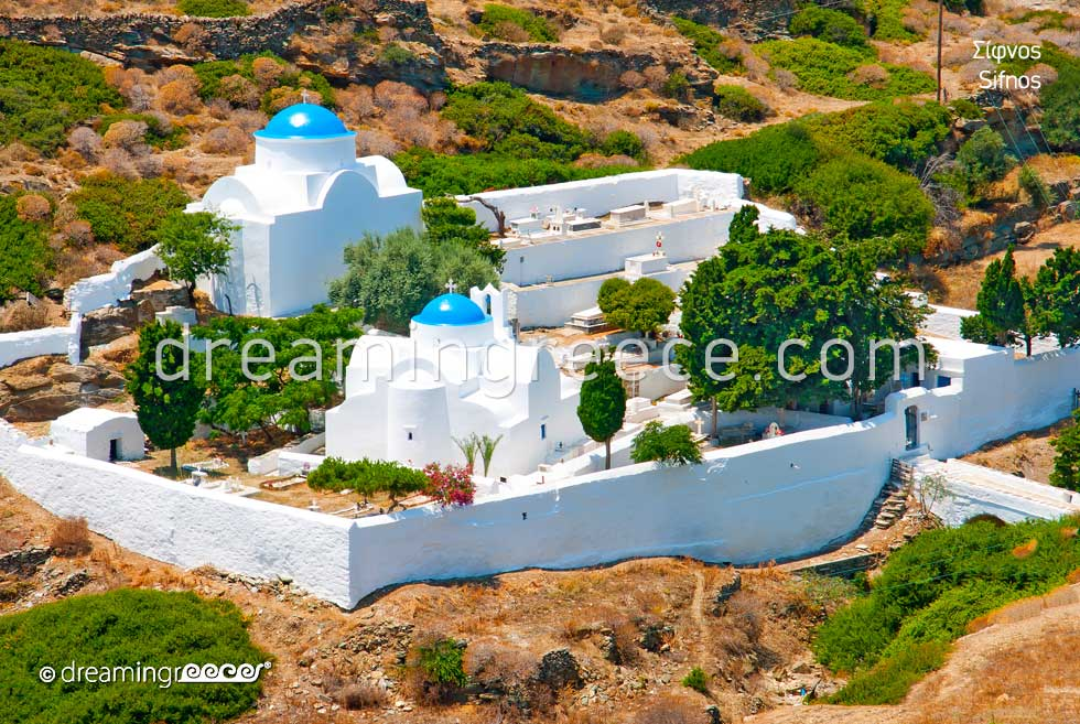 Chapels in Sifnos. Visit Greece. Travel to Greece.
