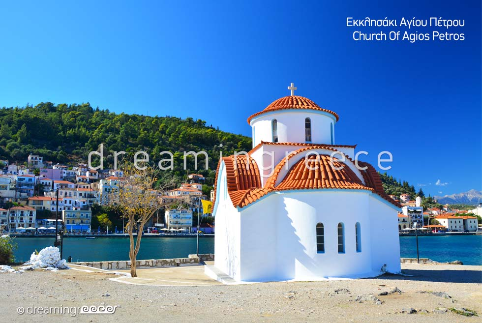 Church Agios Petros Gythio Laconia Peloponnese Greece