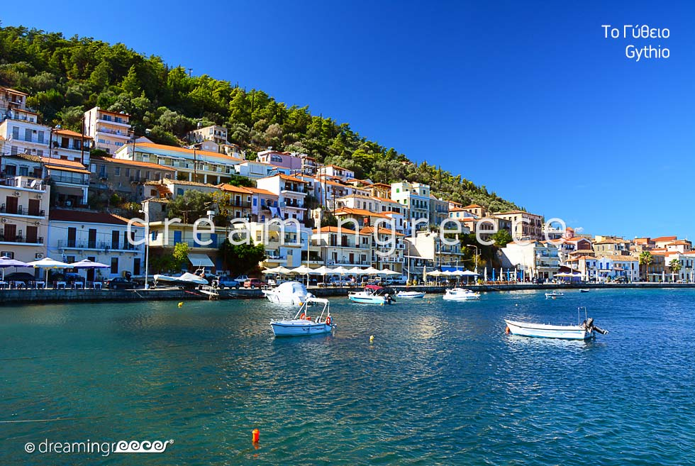 Travel Guide of Gythio Laconia Peloponnese Greece