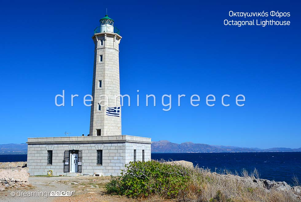 Octagonal Lighthouse Gythio Laconia Peloponnese Vacations in Greece
