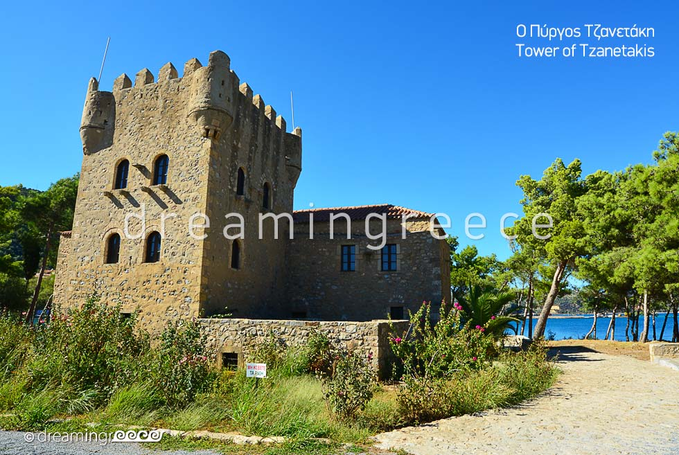 Tzanetakis Tower Gythio Laconia Peloponnese Greece