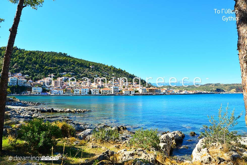 Tourist guide of Gythio Laconia Peloponnese Greece