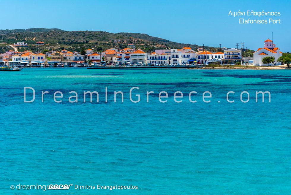 Elafonisos island Greece