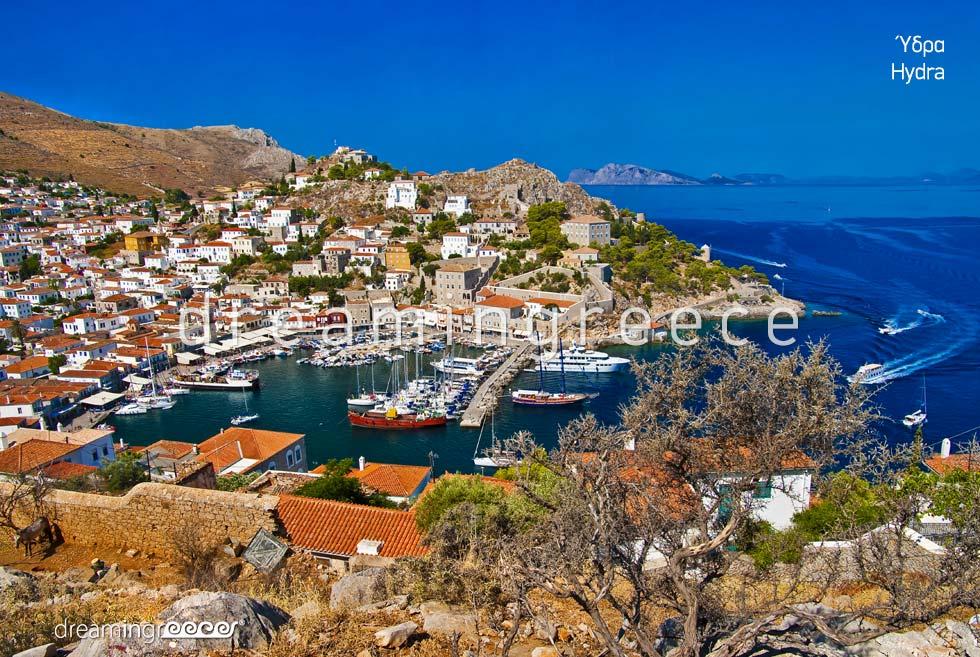 Vacations in Hydra island Greece Argosaronic islands