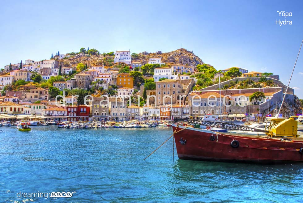 Holidays in Hydra island Greece Argosaronic islands