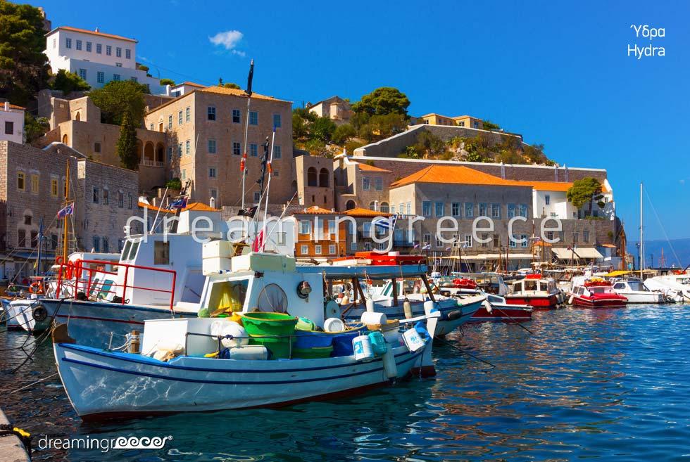 Visit Hydra island Greece Argosaronic islands