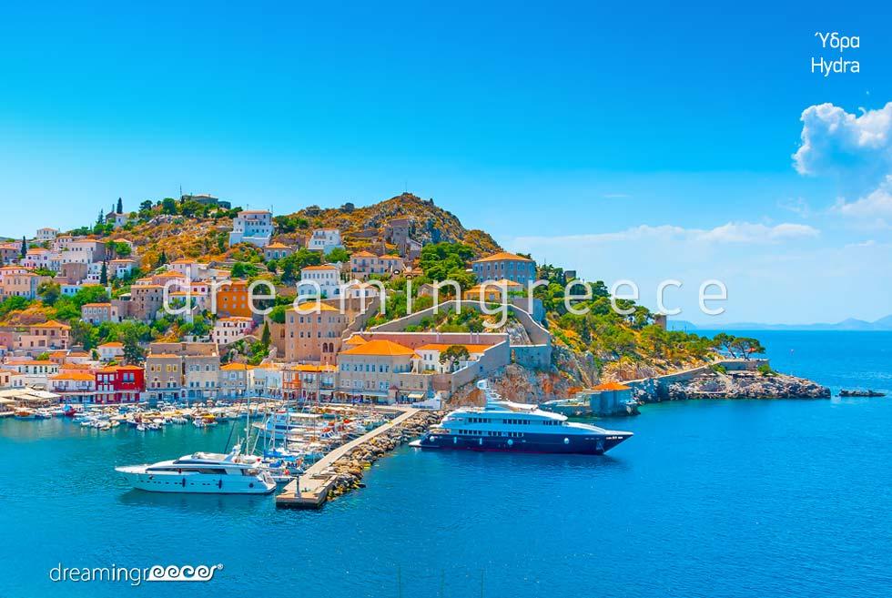 Destination Hydra island Greece Argosaronic islands