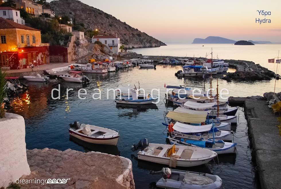 Travel Guide of Hydra island Greece Argosaronic islands