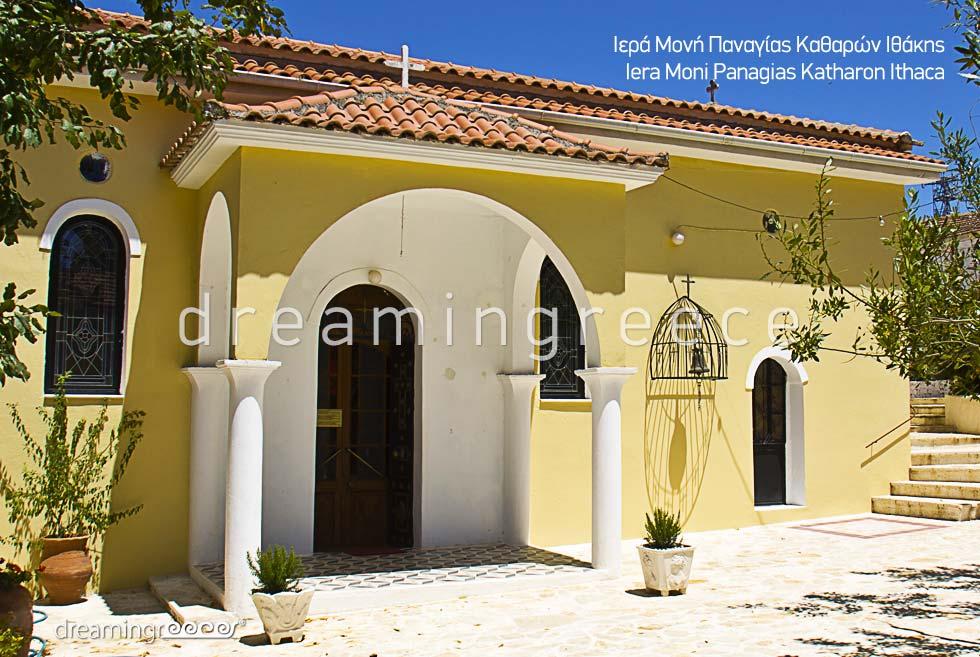 Ithaca Greece Iera Moni Panagias Katharon