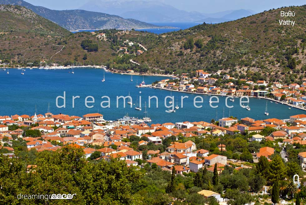 Holidays in Vathy Ithaca Greece Ionian Islands