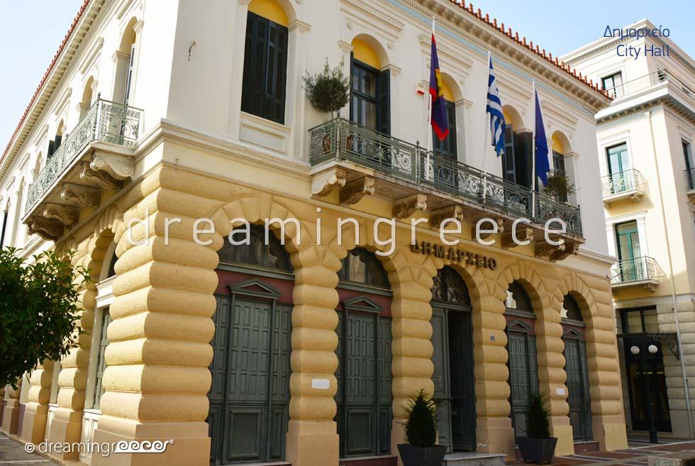 City Hall Kalamata Messinia Peloponnese Greece