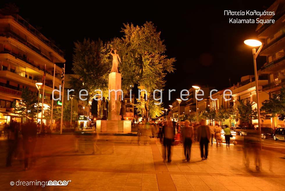 Visit Kalamata Square Messinia Peloponnese Greece