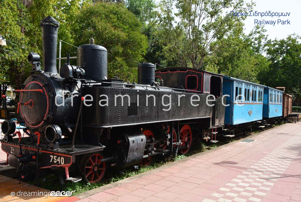 Railway Park Kalamata Messinia Peloponnese Greece