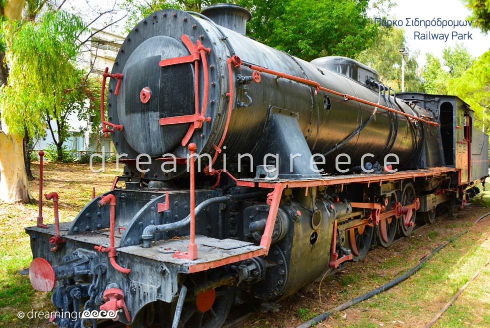 Railway Park Kalamata Messinia Peloponnese Greece