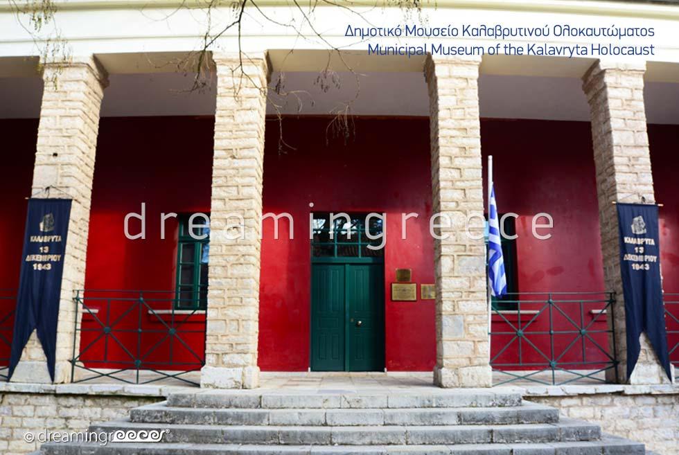 The Holocaust Museum Kalavryta Explore Peloponnese Greece