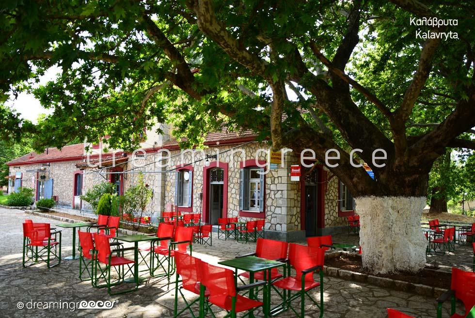 Kalavryta Train Station Peloponnese Greece