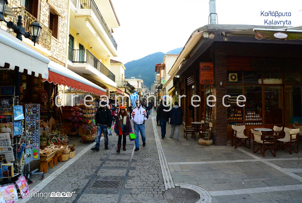 Travel Guide of Kalavryta Achaia Peloponnese Greece