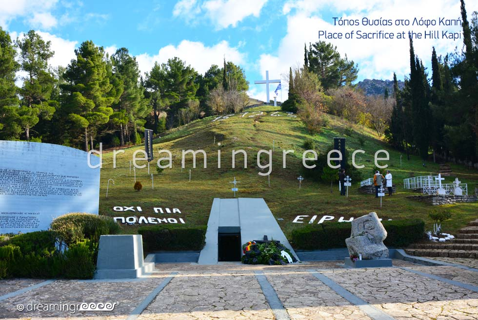 Place Sacrifice Kalavryta Hill Kapi Peloponnese Greece