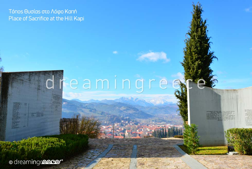 Place of Sacrifice Kalavryta Peloponnese Greece