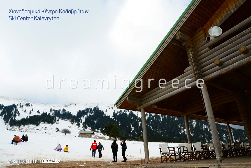 Ski Center Kalavryta Peloponnese Greece