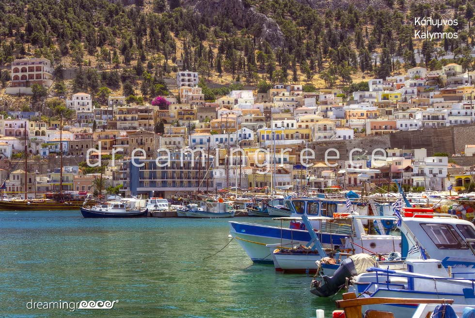 Travel Guide Kalymnos island Dodecanese Greece