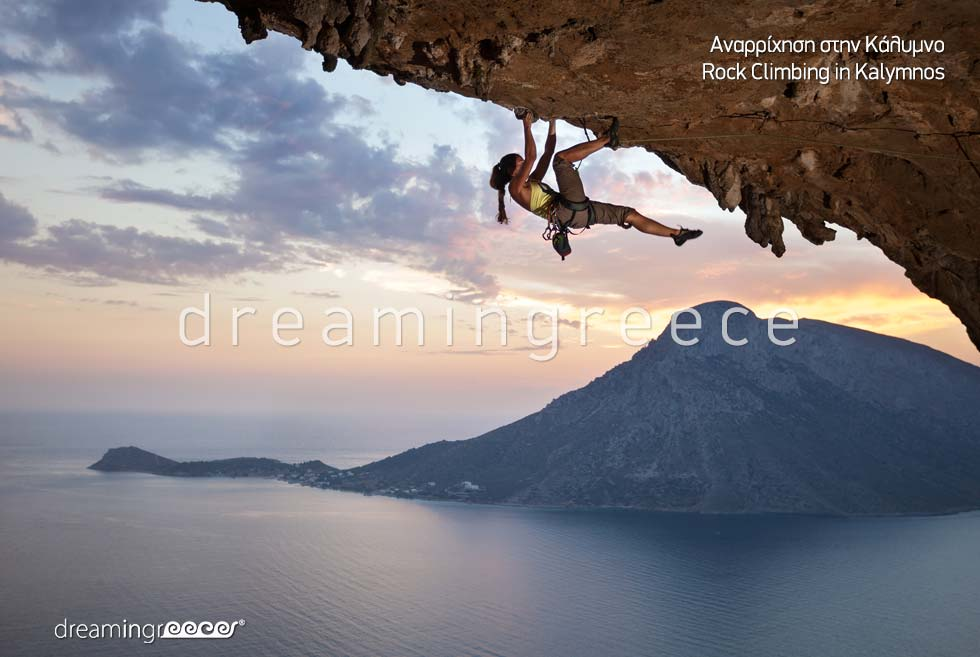 Explore Rock Climbing Kalymnos island Dodecanese Greece