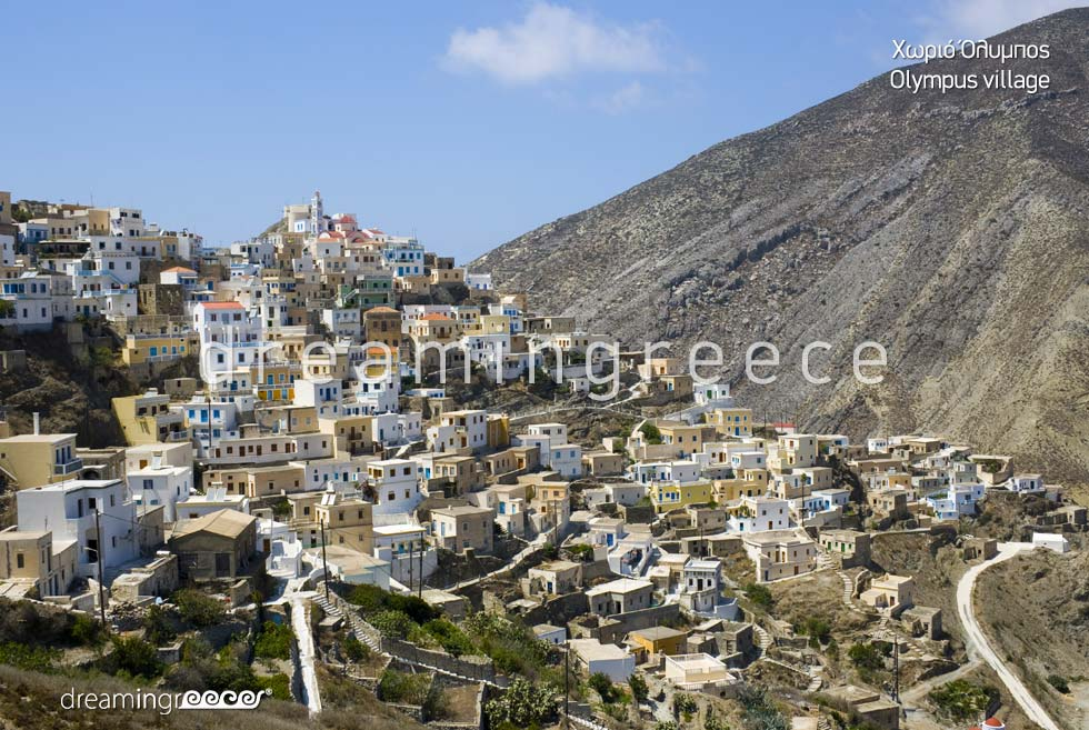 Vacations in Olympus Village Karpathos island Dodecanese Greece