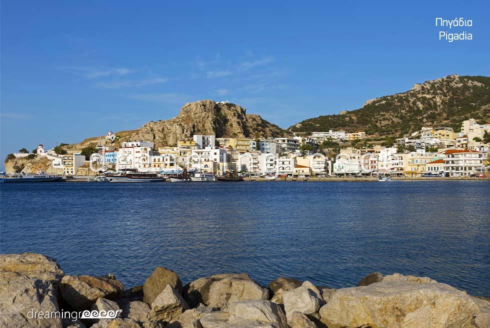 Holidays in Pigadia Karpathos island Dodecanese Greece