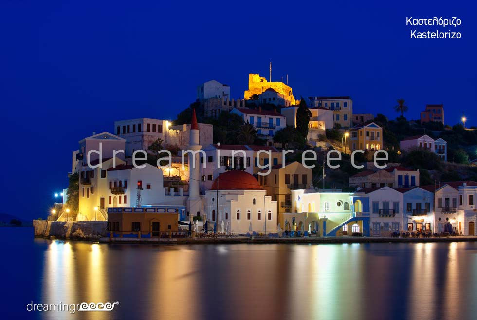 Discover Kastelorizo island Dodecanese Greece