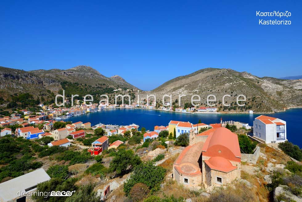 Vacations in Kastelorizo Greek islands Dodecanese Greece