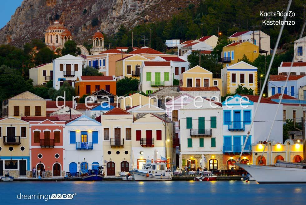 Explore Kastelorizo island Dodecanese Greece