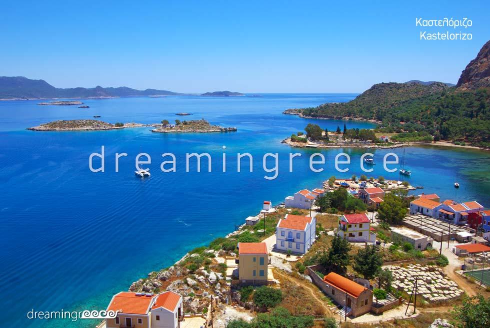Travel guide of Kastelorizo island Dodecanese Greece