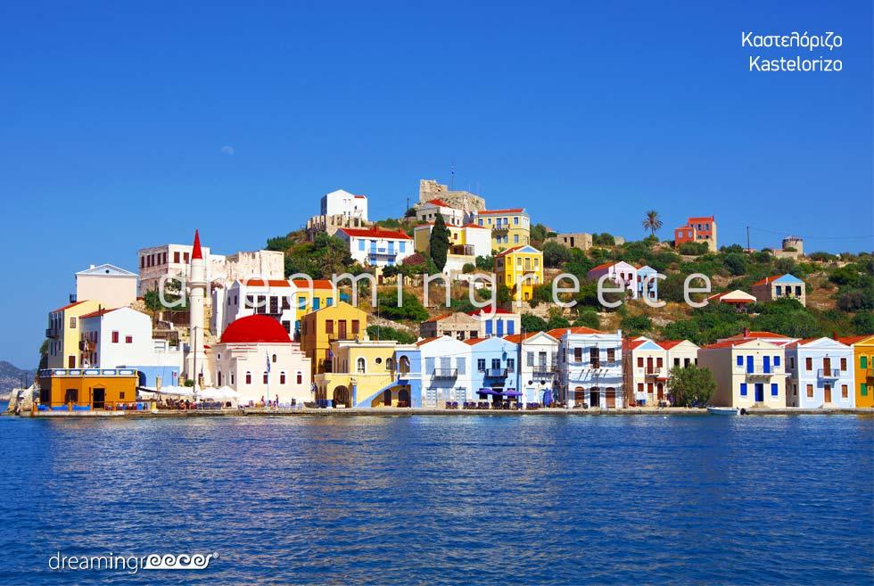 Tourist Guide Kastelorizo Greek islands Dodecanese Greece