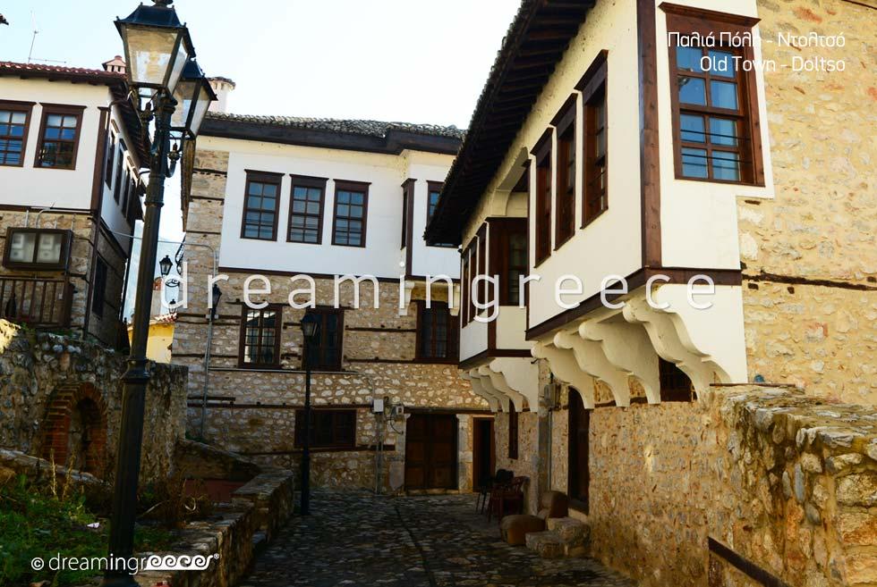 Kastoria. Old Town Doltso.