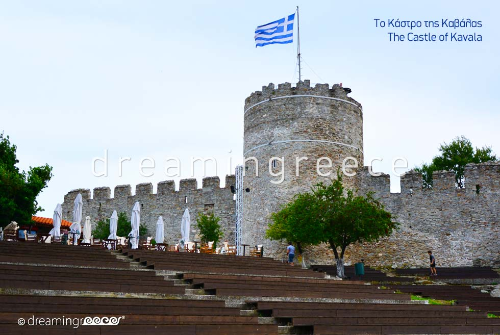 Castle of Kavala Eastern Macedonia and Thrace Greece