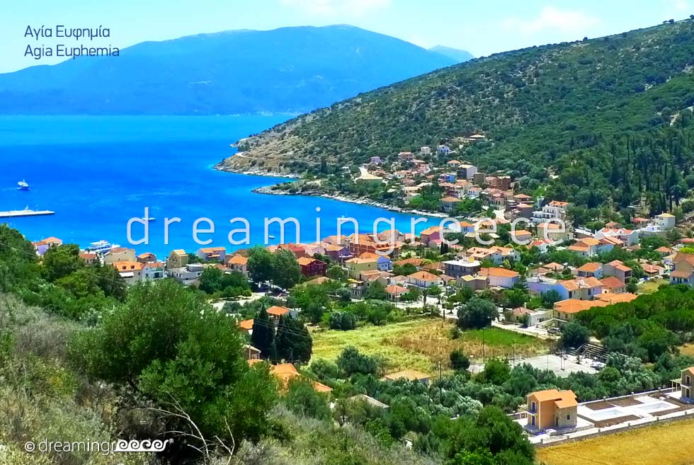 Visit Agia Euphemia Kefalonia island Greece