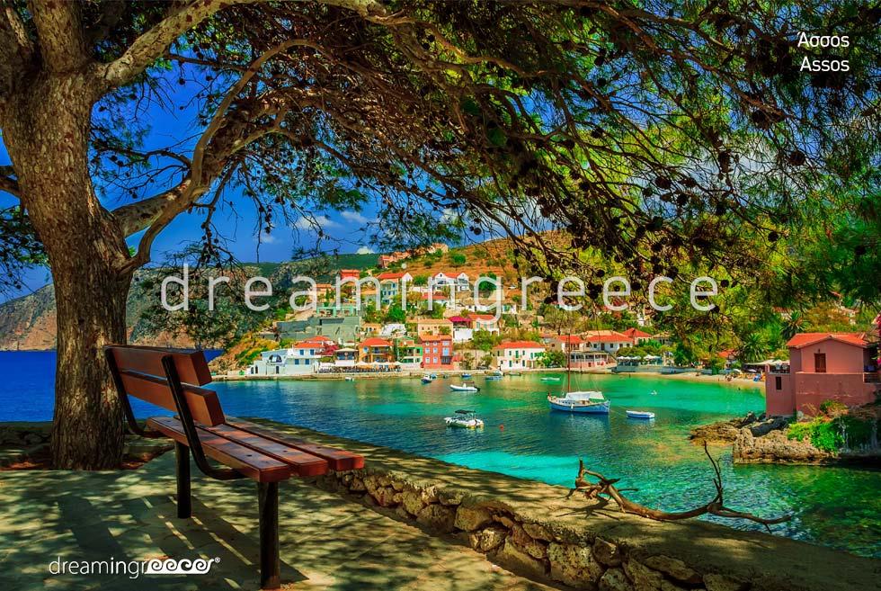 Vacations in Assos Kefalonia island Greece Ionian Islands