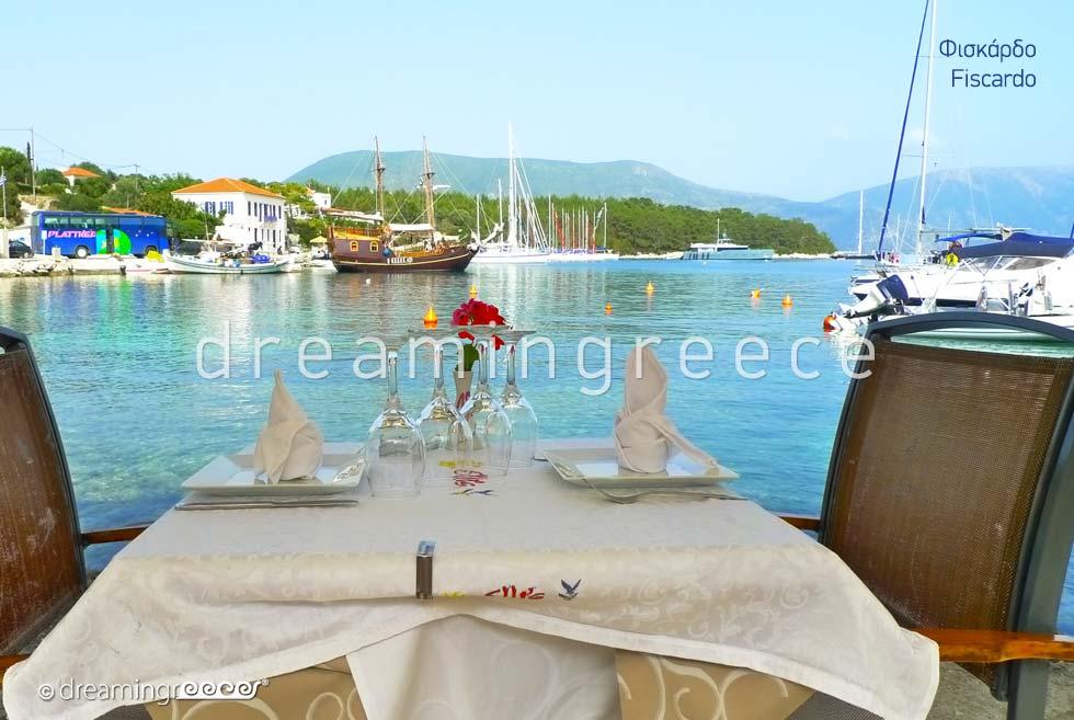 Tourist Guide Fiscardo Kefalonia island Greece Ionian Islands