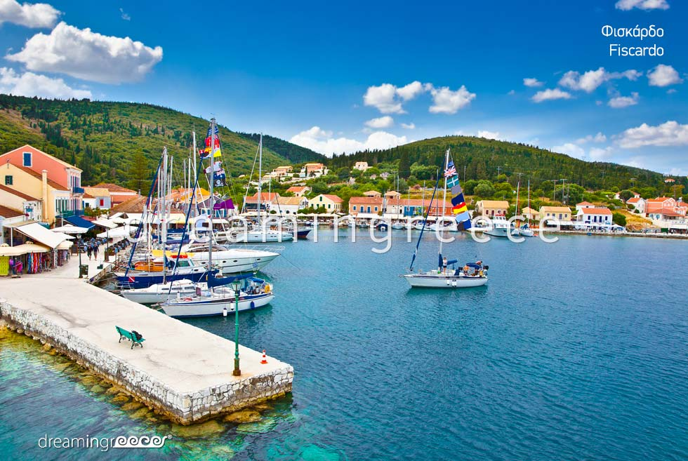 Explore Fiscardo Kefalonia island Greece