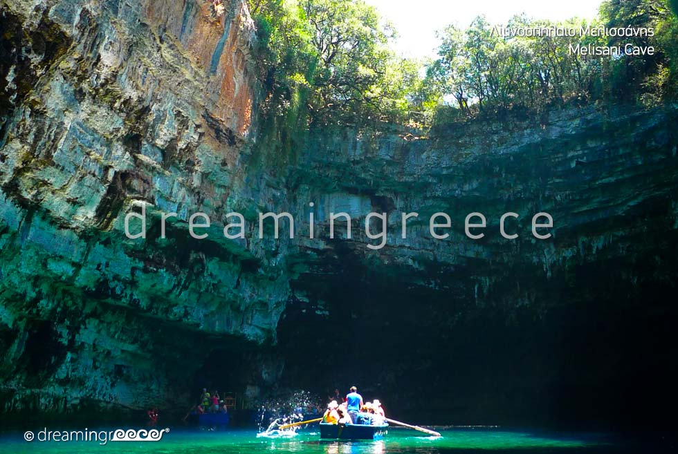 Melisani Cave Kefalonia island Travel Guide of Greece