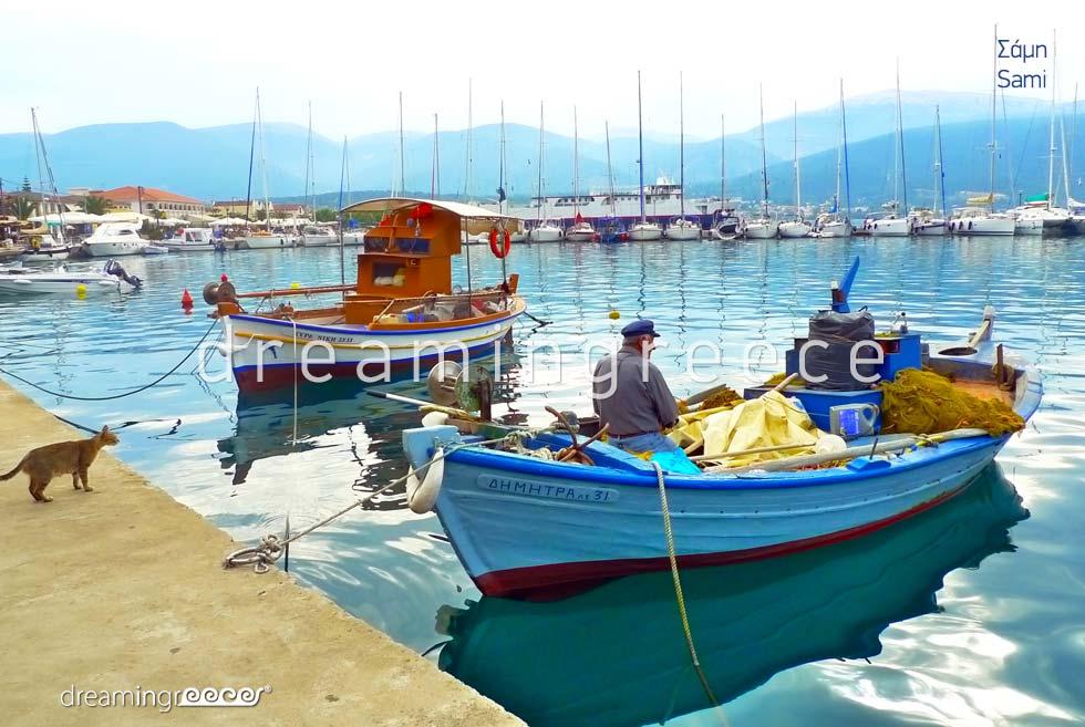 Discover Sami Kefalonia island Greece Ionian Islands