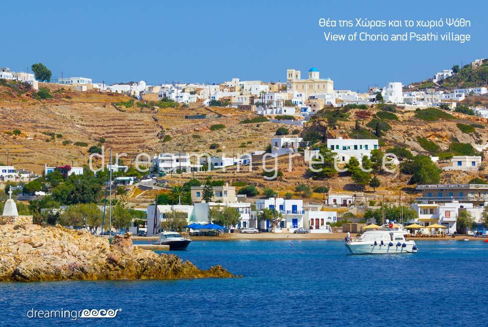 Psathi Village Kimolos island Cyclades. Discover Greece