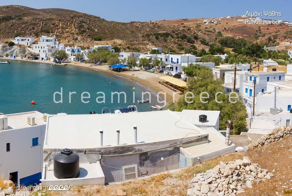 Travel Guide of Kimolos island Cyclades Greece