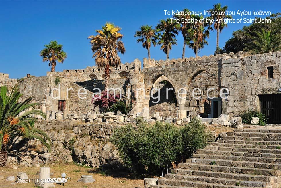 Castle of the Knight of Saint John Kos island Dodecanese Greece