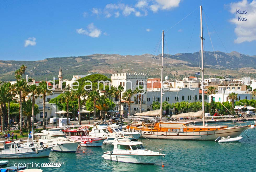 Travel Guide of Kos island Dodecanese Greece